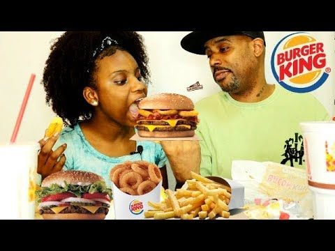BURGER KING NEW RODEO DADDY DAUGHTER EATING SHOW
