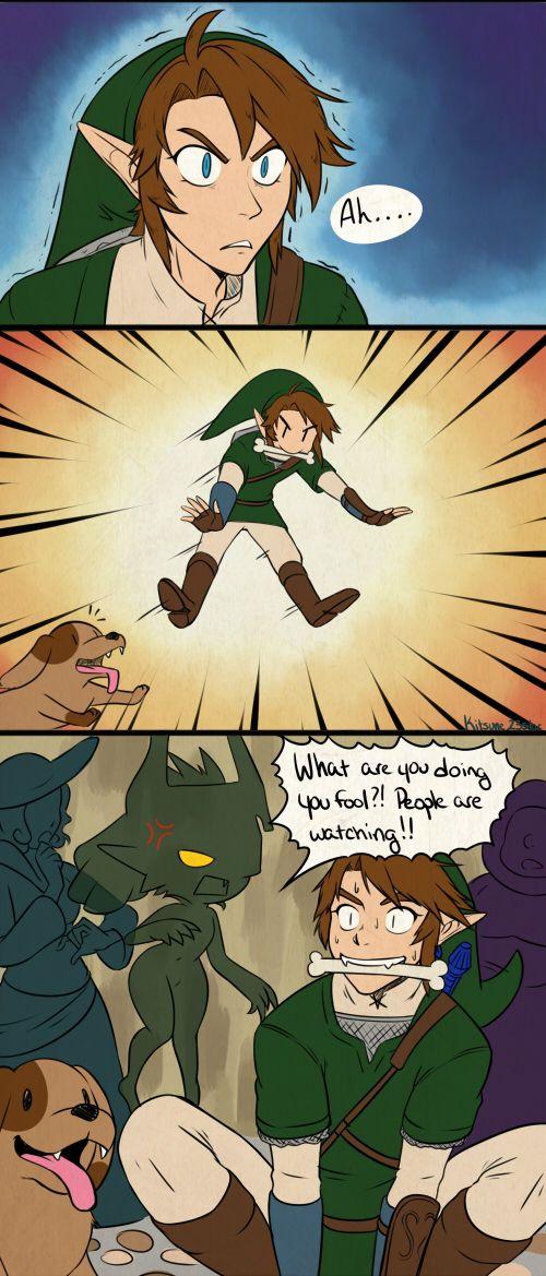 Instincts, The Legend of Zelda: Twilight Princess artwork by Kitsune 23 Star.