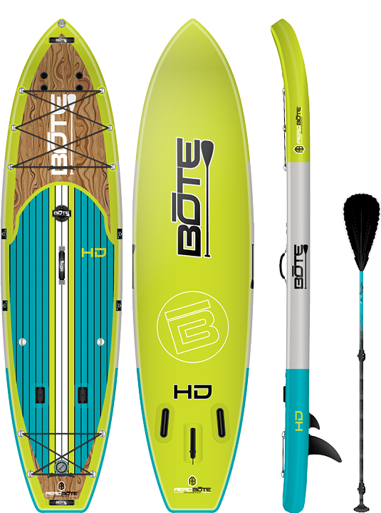 Bote 11 6 Hd Aero Inflatable Paddle Board Classic Standup Paddle Paddle Boarding Surfing