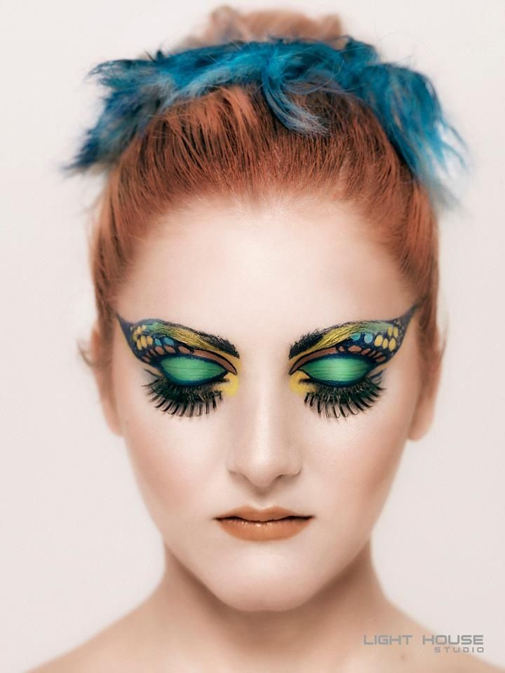 Professional Eye Associates: Beauty Shoot With Kryolan #kryolan #makeup