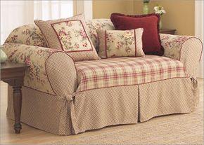 Copridivano Per Divano Reclinabile : Shabby and sewing un divano comodoso cucito copri
