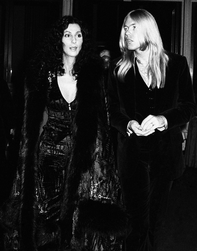 Gregg Allman And Cher Cher Photos Celebrities Celebrity Hairstyles