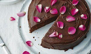 Your favourite treats without the guilt! Devilishly good chocolate cake | Daily Mail Online