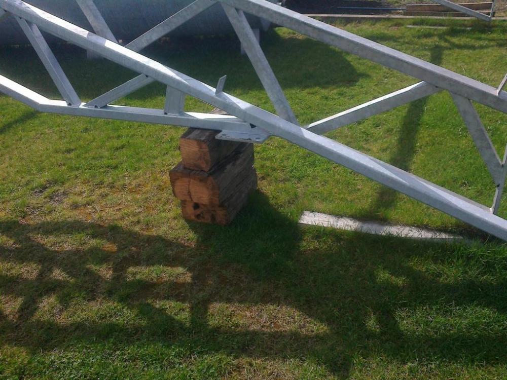 Hala Stalowa 15m Dach Konstrukcja Kratownica 7443577505 Oficjalne Archiwum Allegro