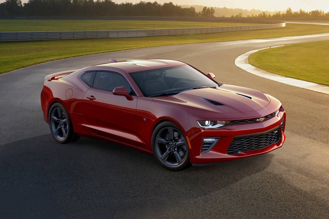 2018 Chevrolet Camaro 2ss Coupe Exterior Shown