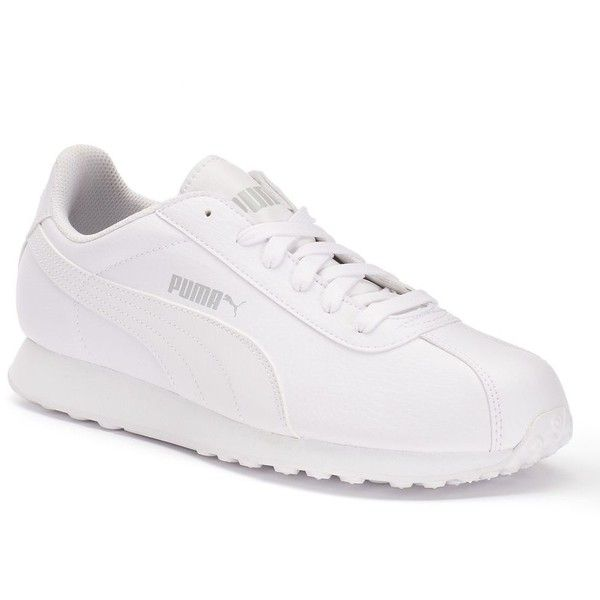 PUMA Turin Men's Sneakers (€45) ❤ liked on Polyvore featuring men's  fashion,. Mens White ...