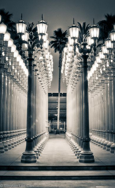 Lacma lamp posts farola los ngeles y ngeles spend more time behind with camera and more time out in los angeles aloadofball Gallery