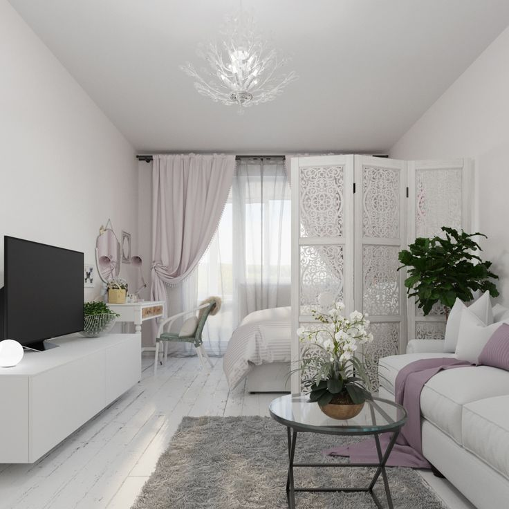 Photo of The interior of the week: two-bedroom dream in beautiful white tones
