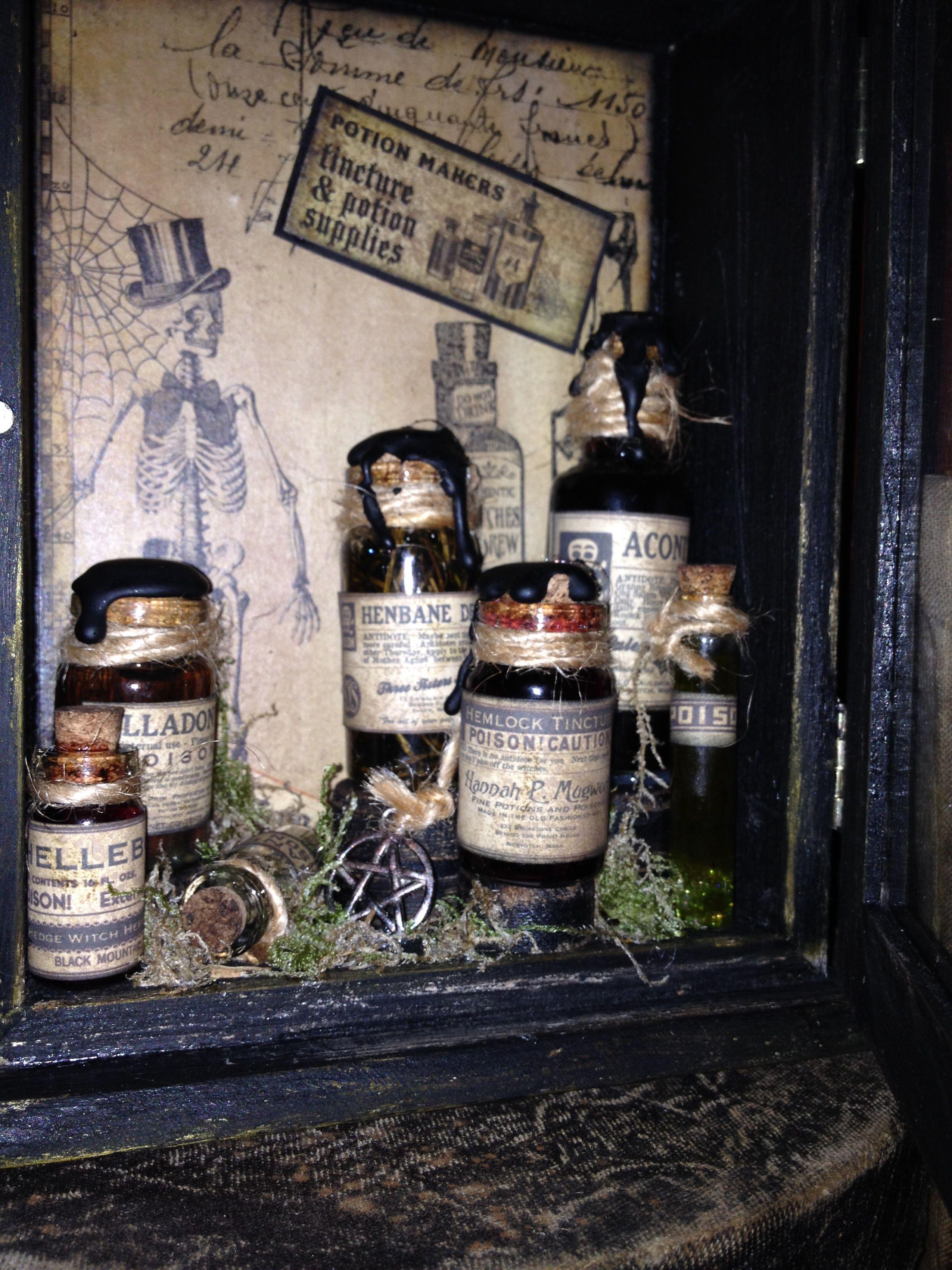 Witches Apothecary | Apothecary | Halloween apothecary, Apothecary