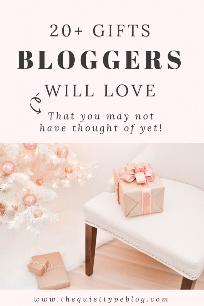 20 Gift Ideas For Bloggers Ranging From Practical To Fun That Are Guaranteed Love