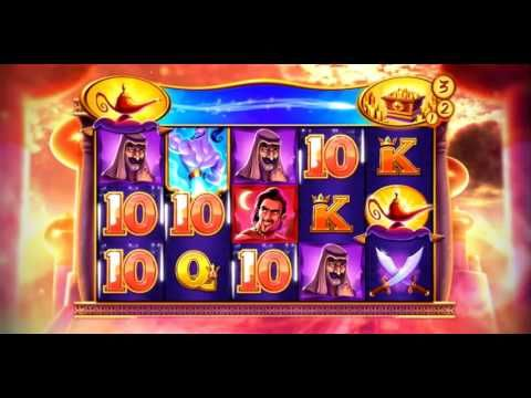 Great New Casino Slots Machine at HOF - Magnificent Genie - YouTube