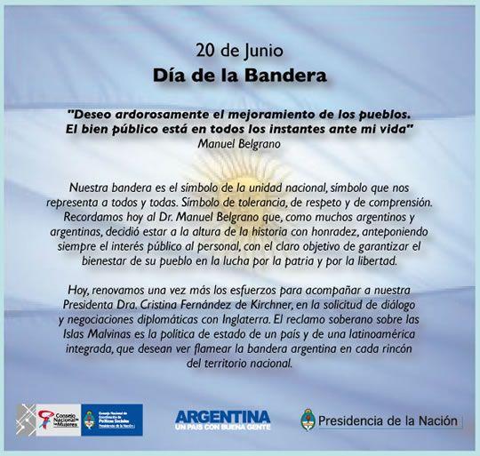 Frases Del Dia De La Bandera Argentina En Imagenes Frases De 20 De