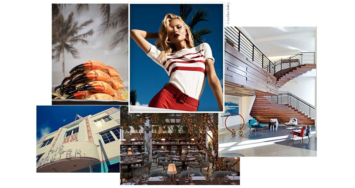 Cap sur South Beach, l'un des quartiers de Miami les plus cools du moment où fleurissent toujours plus d'hôtels trendy, de restaurants avec vue et de galeries d'art. Guide express des 10 spots incontournables à inscrire dans son carnet d'adresses.