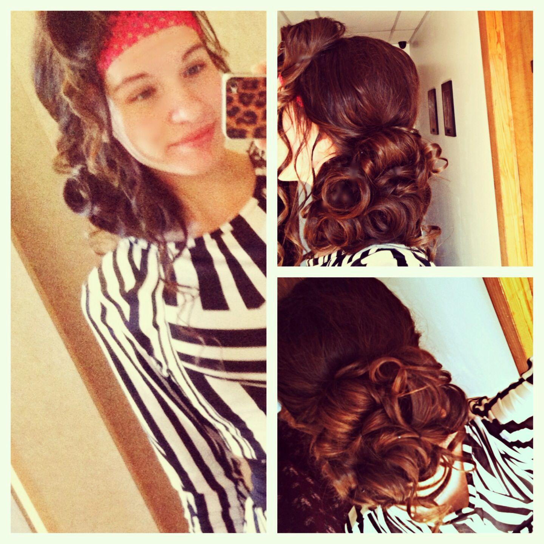Pin By Camila Viana On Apostolic Hair Pentecostal Hairstyles Hair Styles Short Wedding Hair