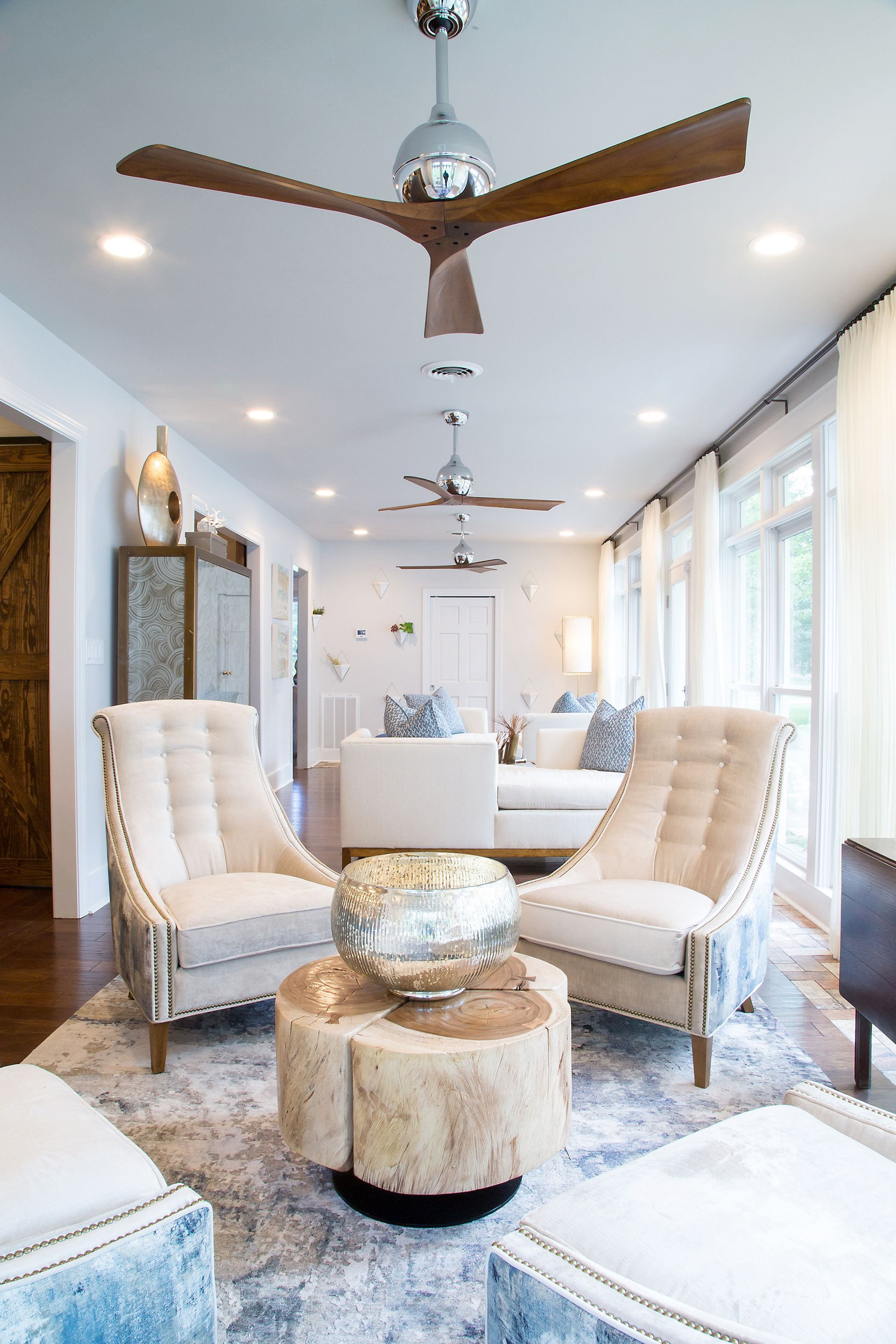 The sitting room everyone wants to be in. Designed by