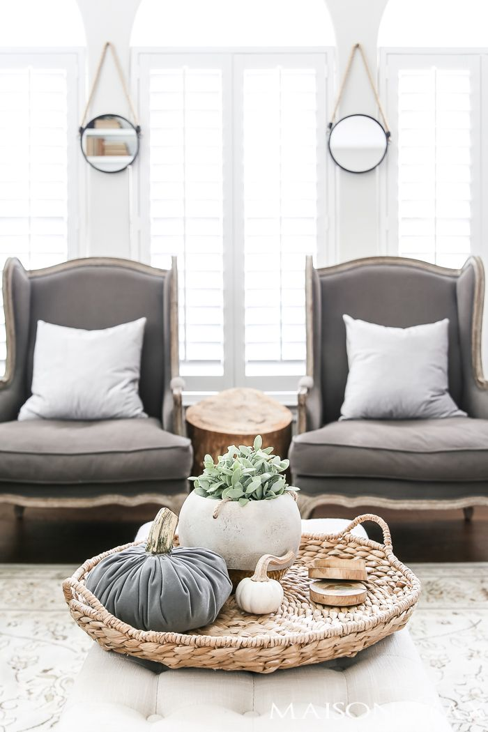 Autumn Living Room Decorating: Fall Into Home Tour