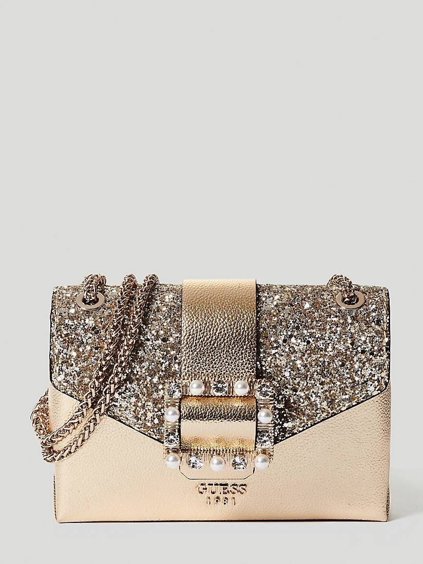 0cdf3e0525 SUMMER NIGHT CITY GLITTER CROSSBODY | GUESS.eu | guess | Night city ...