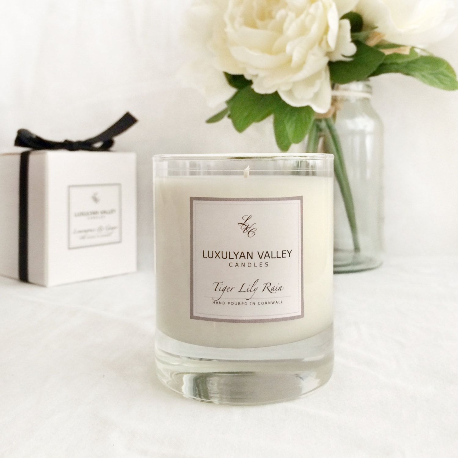 Luxury Natural Scented Candles, hand poured in Cornwall. Tiger Lily ...