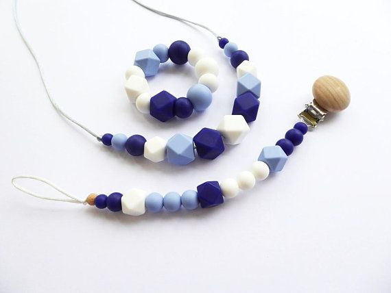 Hey I Found This Really Awesome Etsy Listing At Https Www Etsy Com Listing 562062281 Silicone Teething Necklace For Mom Teething Jewelry Beaded Necklace Diy