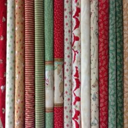 HERE COMES SANTA by Arlene Neely for Red Rooster Fabrics