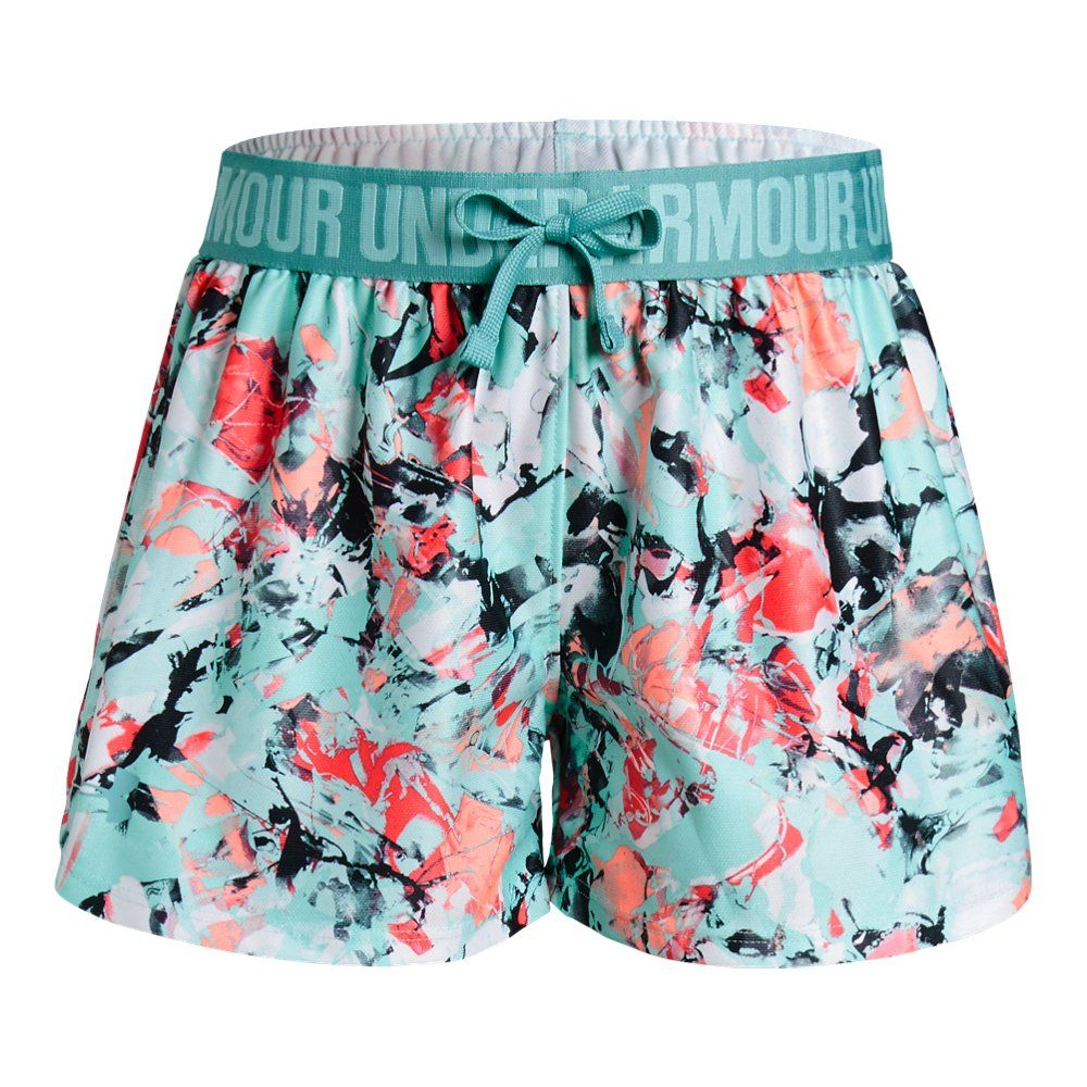 Printed Play Up Girls Short