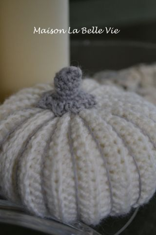 Maison La Belle Vie Crafting: Muster häkeln Kürbis ... | Herbst ...