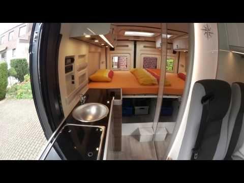Videotour Westfalia Columbus 600 D Modell 2016 - YouTube