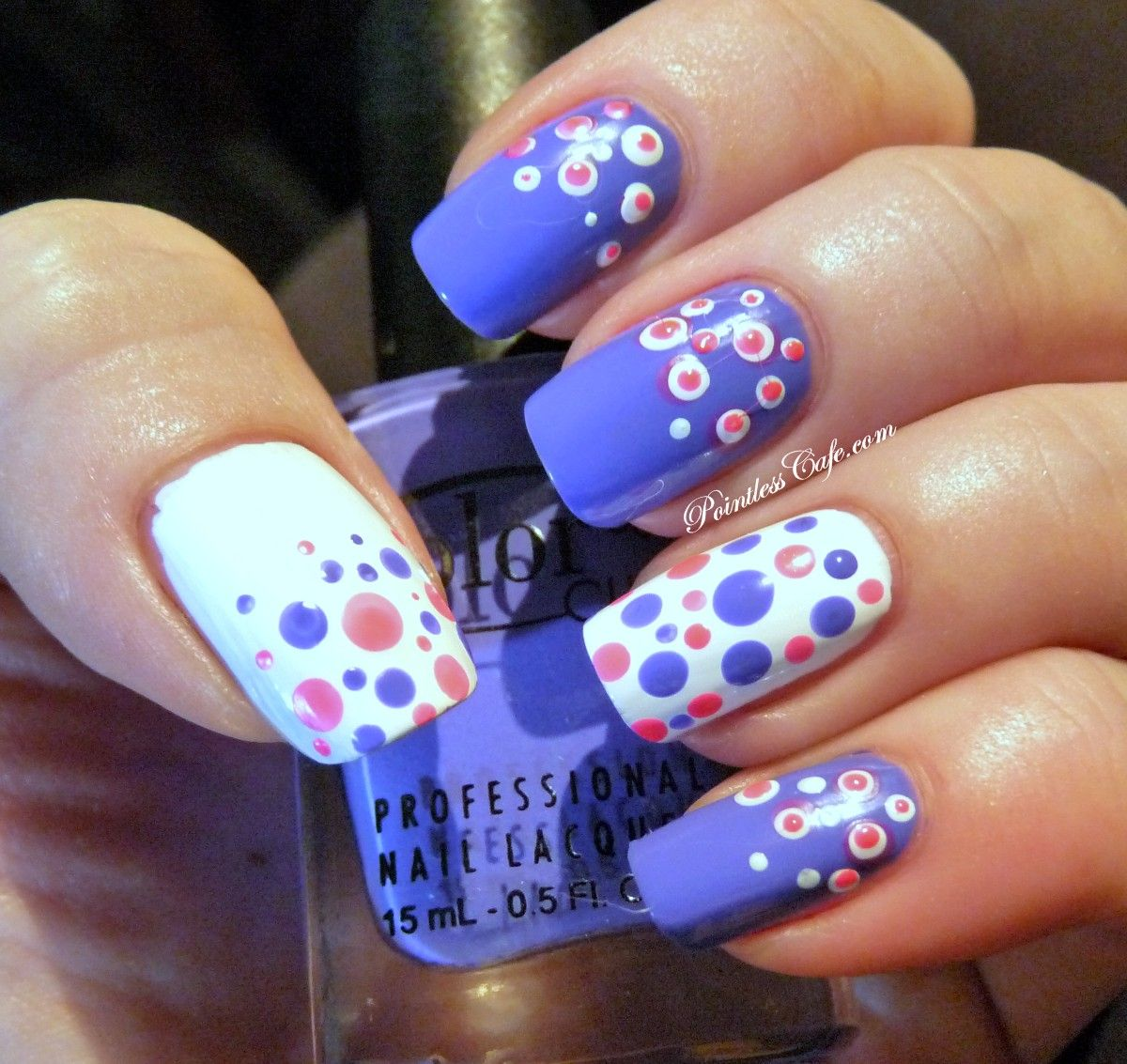 Dot nails my favorite nails pinterest nail nail nail polka
