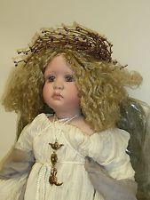 """31"""" Porcelain Master Piece Gallery Angel """"Charity"""" by Linda Valentino-Michel"""