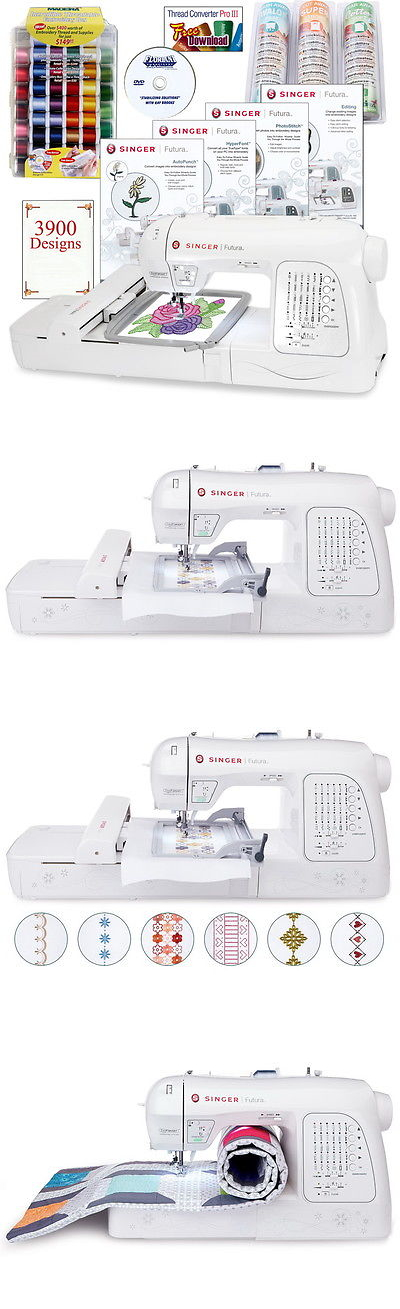 Sewing Machines and Sergers 3118: Singer Xl-420 Futura Emboidery ...