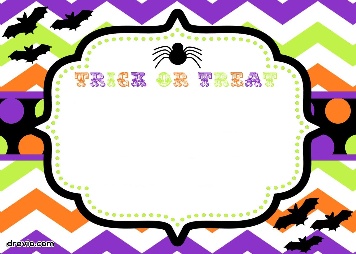 download now free printable halloween invitations templates