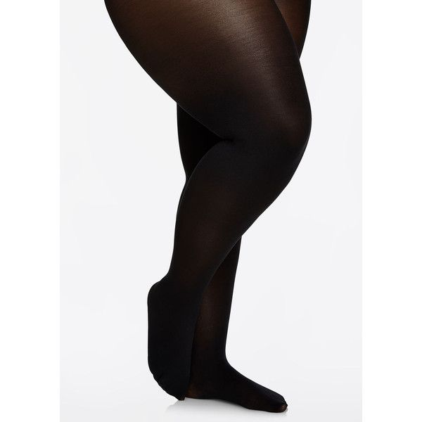 41239234c91 Ashley Stewart Nude Barre Opaque Tights ( 18) ❤ liked on Polyvore featuring  intimates