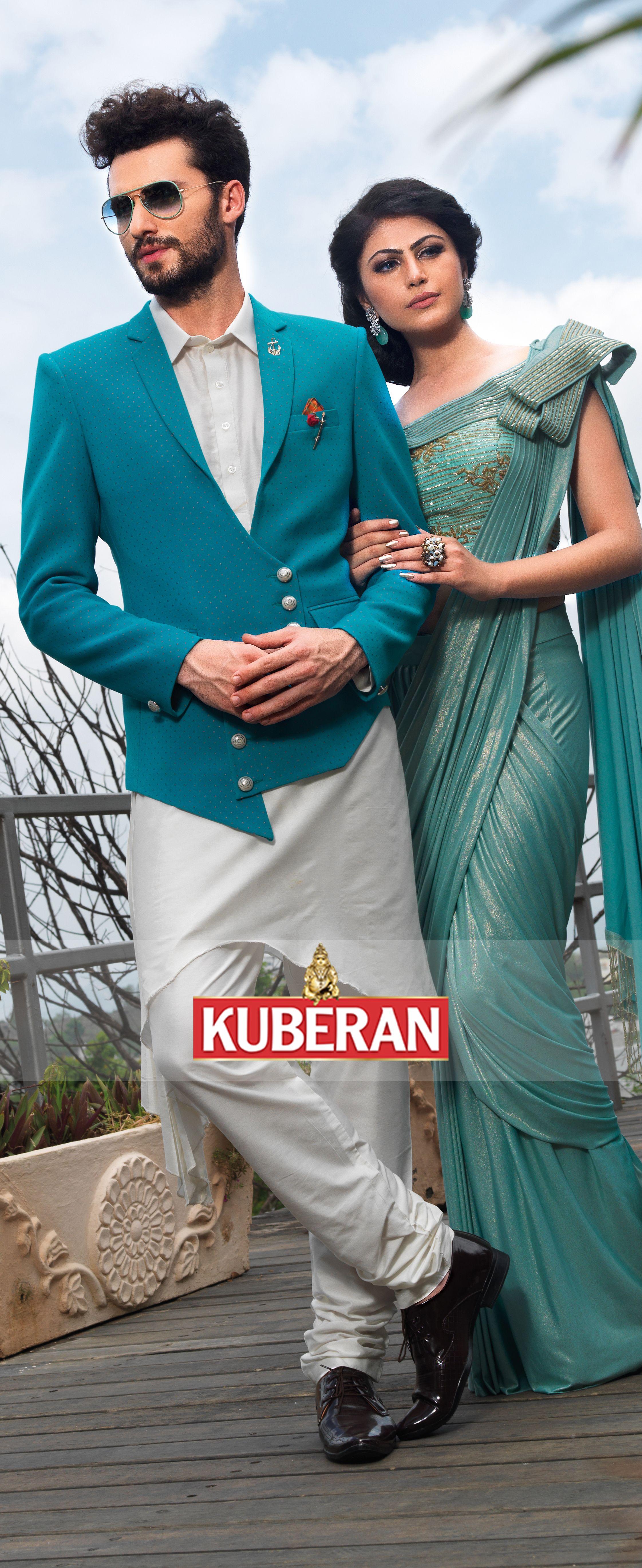 Kuberan Turquoise Blue Designer Suit #menssuit #weddingsuit ...