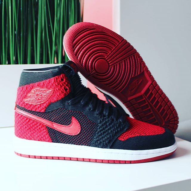 7d138a965855 ... Go check out my Air Jordan 1 Retro High Flyknit BannedBred 2017 on feet   Go check out my Air Jordan 1 Royal on feet link channel in bio.