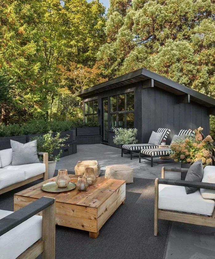 Modern Farmhouse Outdoor Furniture And Decor Patio Decor Front