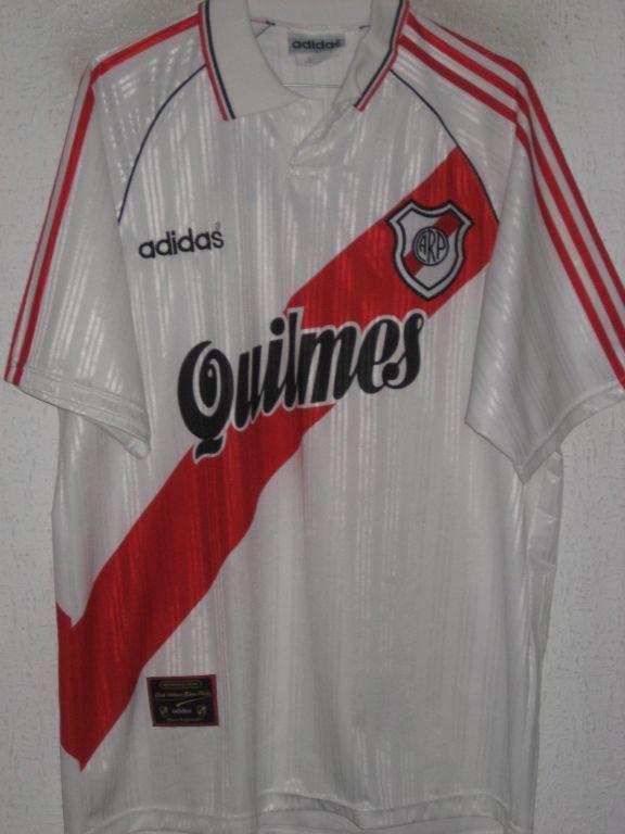 River Plate Home football shirt 1995 - 1996 River Plate Camiseta 3263ddcec21fb