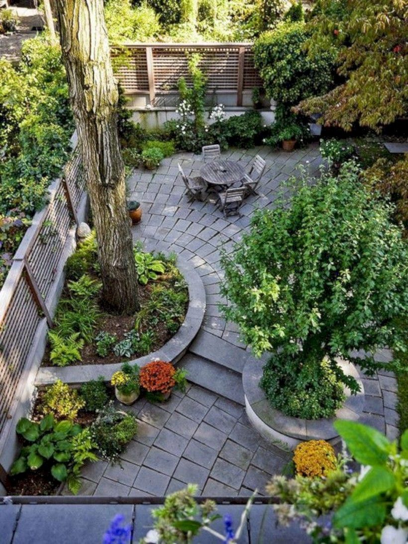 37 Small Backyard Landscape Designs To Your Garden Small 640 x 480