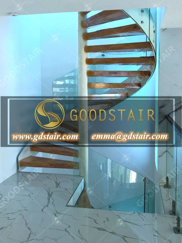 Best A Simple Spiral Staircase That Links The Gaps Between 400 x 300