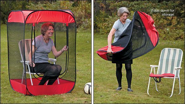 573c179120 Insect-a-Hide™ Pop-Up Shelter - Gifts One person bug tent. Unfortunately  cannot order through the mail.