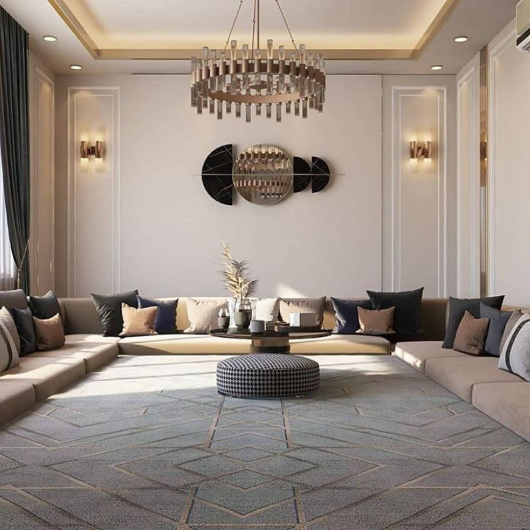 فن البيت On Twitter Luxury Living Room Design Luxury Living Room Home