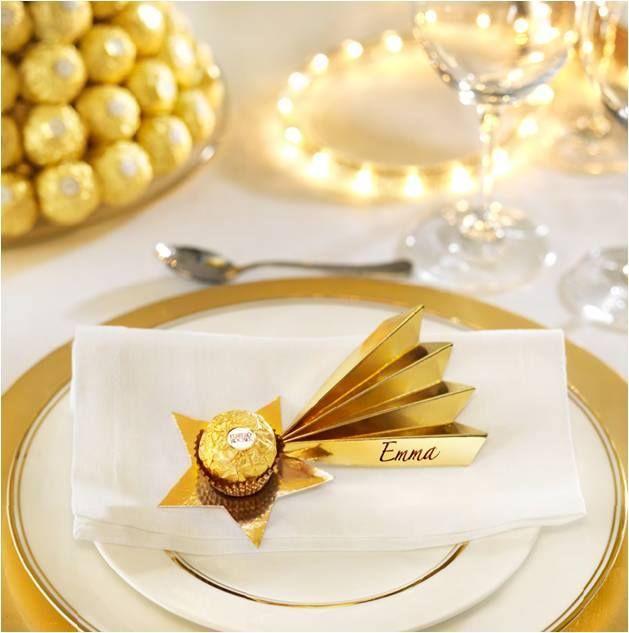 Weihnachtsdeko Ferrero.Ferrero Rocher Wedding Weihnachtsdeko Tischdeko Weihnachten