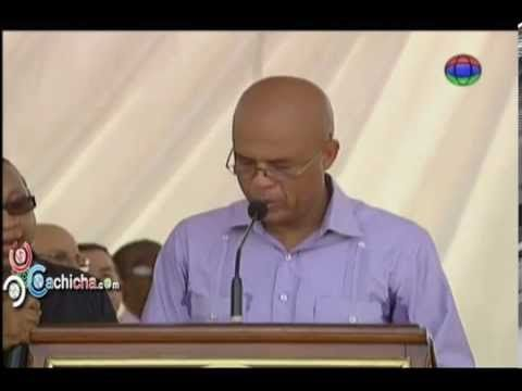 Presidente de Haiti Michel Martelly bien Sudao' #Video - Cachicha.com