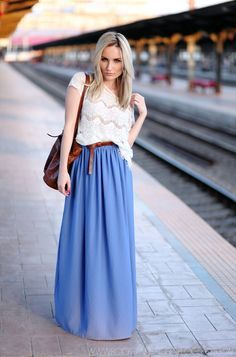 Calling all long skirt lovers! Are you the kind of person that ...