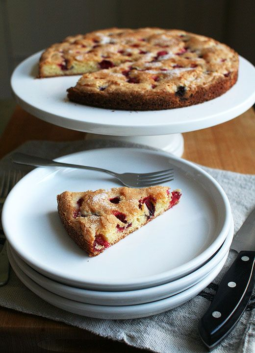Cranberrry Torte