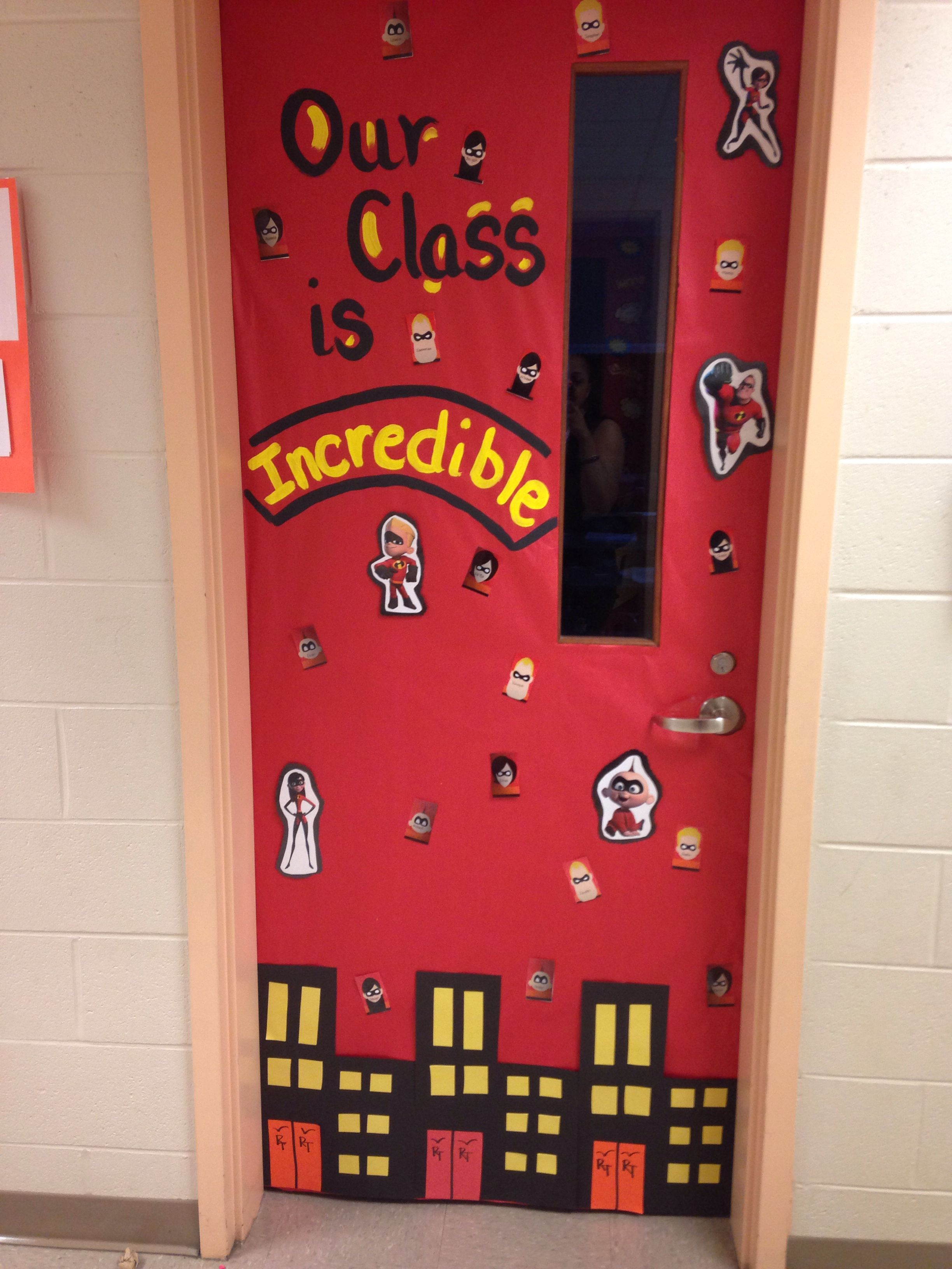 Classroom Ideas Year 7 ~ Incredible classroom superhero door decorations