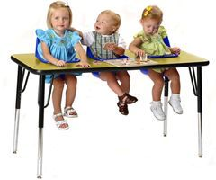 Twin Triplet Quad Or More Feeding Play Table High Chair Toddler Table Table Activities For Toddlers Toddler Activities
