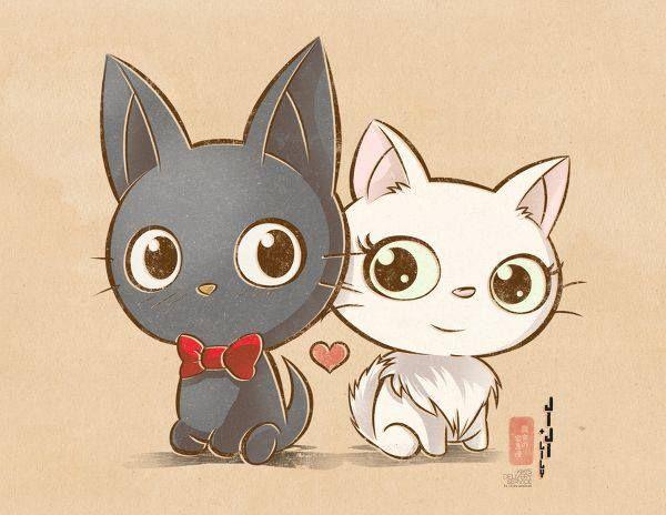 Two cute kitties