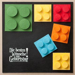 Geburtstagskarte Lego Geburtstagsgrüße Karten Und Geschenke