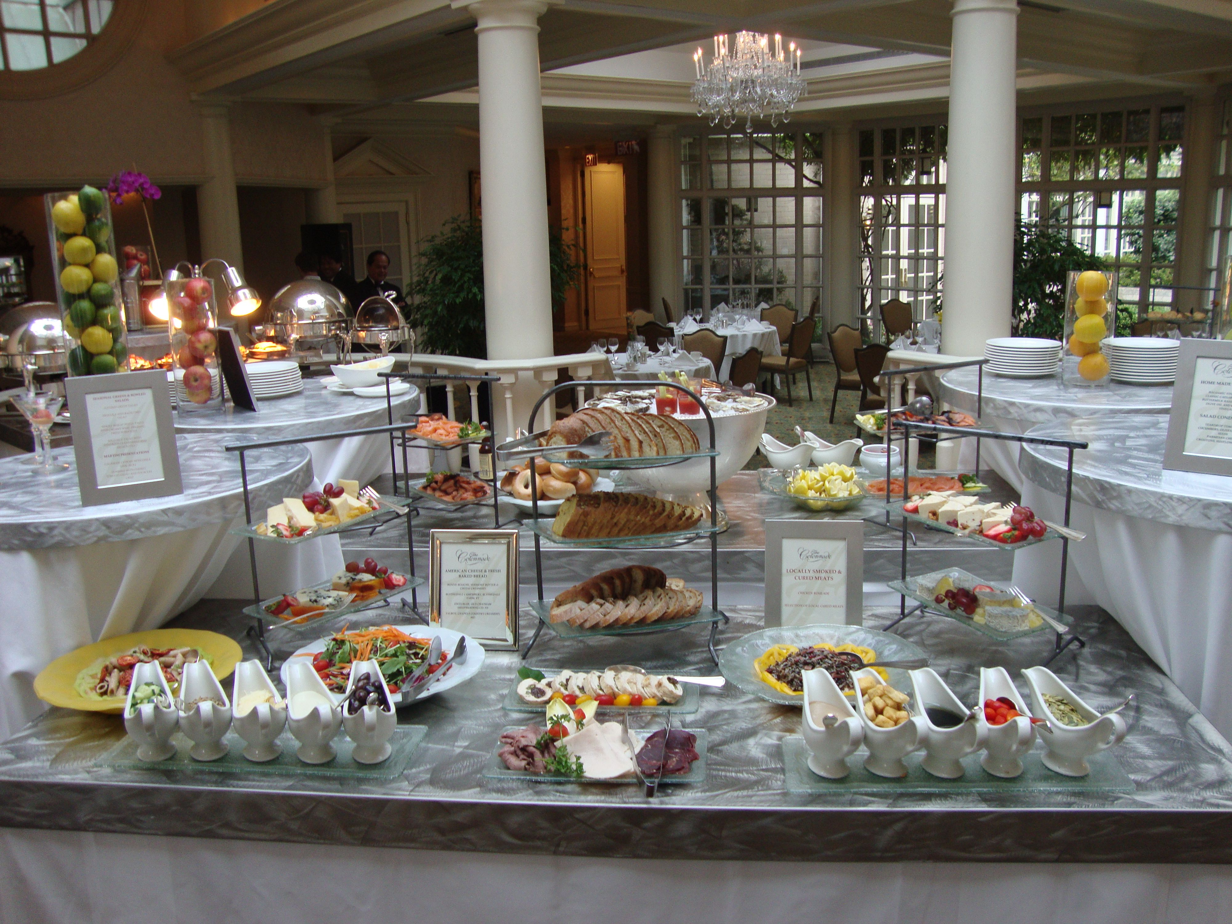 Easter Brunch In The Colonnade At Farimont Washington Dc