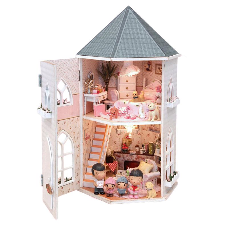 Free Shipping Buy Best Diy Building Miniature Doll House Handcraft